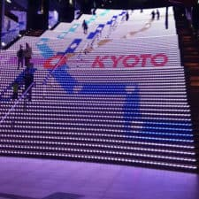 4_Kyoto Station Light show